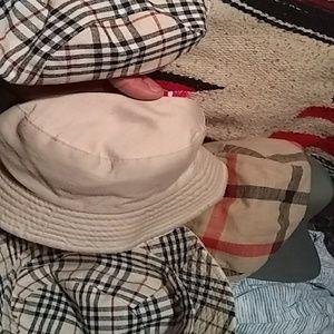 Plaid hats